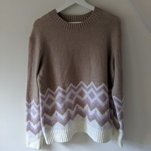 J.Crew   Fair Isle Geometric Sweater